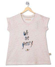 Raine And Jaine We Are Pretty Printed Tee - White