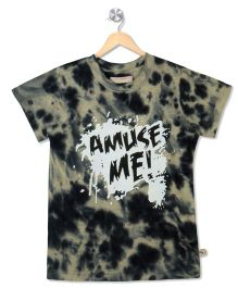Raine And Jaine Amuse Me Printed Tee - Black