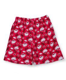 Hello Kitty Shorts Printed - Pink
