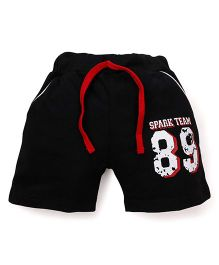 Olio Kids Shorts With Drawstring - Black