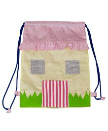 Kadam Baby Drawstring Bag Pink - 13 Inches