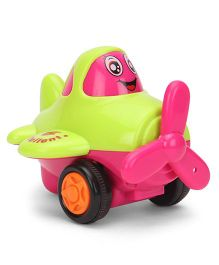 Smile Creation Plane Toy - Green Pink