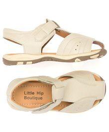 Little Hip Boutique Closed Toe Sandals - Beige