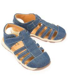 Little Hip Boutique Closed Toe Sandals - Blue