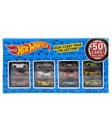 Hot Wheels Die Cast Cars Pack Of 50 - Multicolor