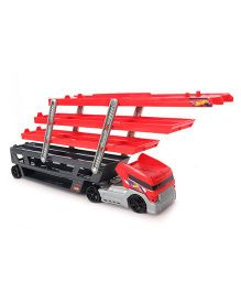 Hotwheels City Mega Hauler Truck - Red & Black