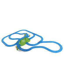 Thomas And Friends Motorised Railway Trackset - Blue Green