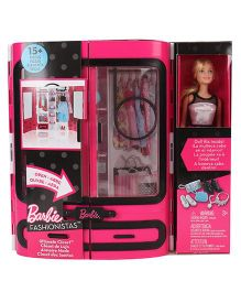Barbie Doll And Ultimate Closet - Multicolour