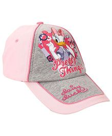 Disney Mickey & Friends Girls Cap - Pink Grey
