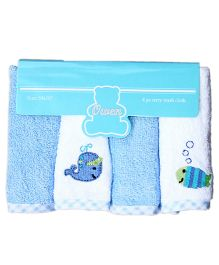 Owen 4 Piece Terry Wash Cloth
