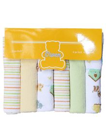 Owen Knit Wash Cloth - 6 Pieces