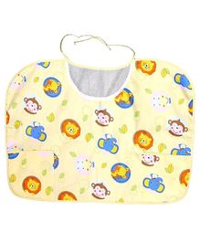 Owen Nursing Bib - Yellow
