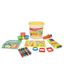 Play Doh Large Artist Bucket - Yellow