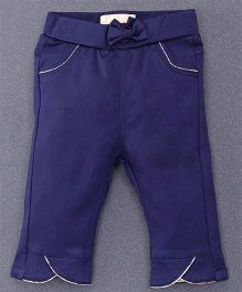 TBB Trendy Pant With Two Front Pockets - Dark Blue