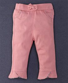 TBB Trendy Pant With Two Front Pockets - Peach