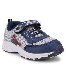 Spider Man Casual Shoes - Blue Grey