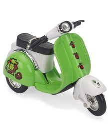 Smiles Creation Die Cast Scooter Toy - Green And White