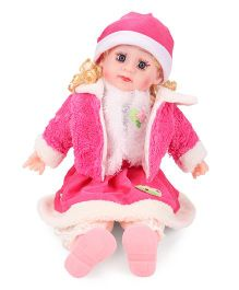 Smiles Creation Doll In Jacket Pink - 56 cm