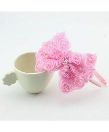 Angel Closet Pearls Embellished Hairband - Pink