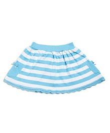 FS Mini Klub Stripes Skirt - Blue White