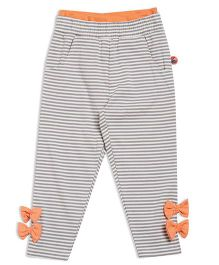 FS Mini Klub Full Length Leggings Stripe Print - Grey