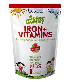 Super Gummy Iron Plus Vitamins - 102 g