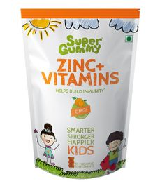 Super Gummy Zinc Plus Vitamins - 102 g