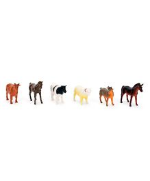Smiles Creation Farm Animals Set - 6 Figurines