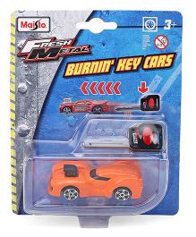 Maisto Burning Key Die Cast Car