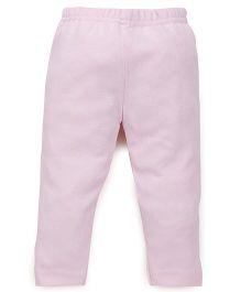 Tiny Bee Plain Leggings - Pink