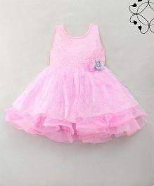 Eiora Beautiful Sparkling Dress - Pink