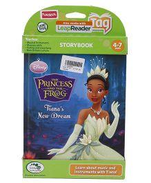 Disney Princess & Frog Tianas New Dream Story Book Blue - English