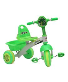 Amardeep Baby Tricycle With Storage Basket - Green