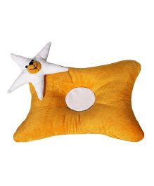 Amardeep Baby Pillow - Mustard Yellow