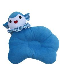 Amardeep Goat Baby Pillow - Blue