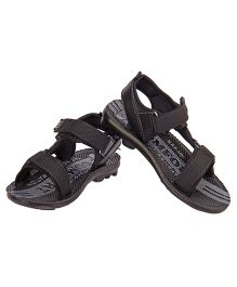 77 Seventy Seven Kids Strappy Sandals - Black