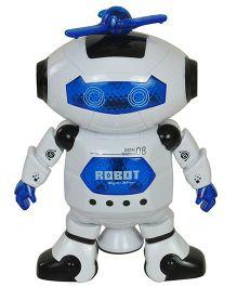 Magic Pitara Naugty Dancing Robot - Blue White