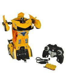 Magic Pitara Deformation Robot - Yellow
