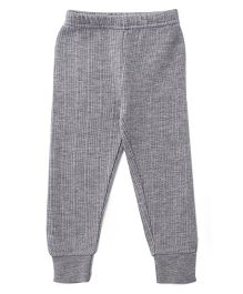 Babyhug Full Length Thermal Bottom - Light Grey