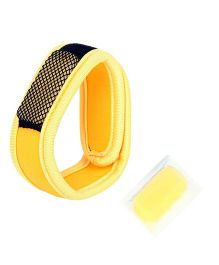 Safe-O-Kid Reusable Fabric Mosquito Repellent Band - Yellow