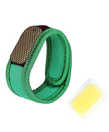 Safe-O-Kid Reusable Fabric Mosquito Repellent Band - Green