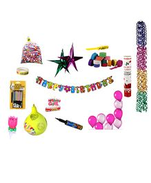 NHR Special Birthday Decoration Kit - 96 Pieces