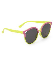 Babyhug Kids Sunglasses - Yellow Pink