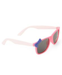 Babyhug Kids Sunglasses With Bow - Pink