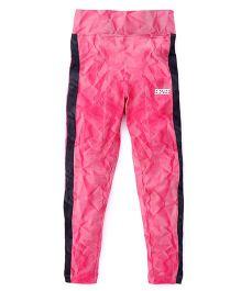 Brzee Stylish Leggings - Dark Pink