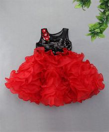 M'Princess Ruffles Party Dress - Red