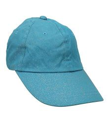 Little Wonder Trendy Solid Pattern Cap - Turqouise Blue