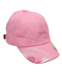 Little Wonder Solid Pattern Cap - Pink
