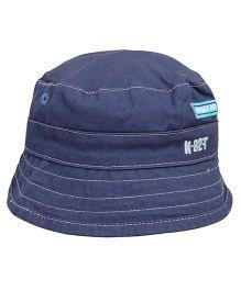 Little Wonder Embroidered Hat - Navy Blue