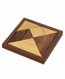Desi Karigar Handmade Wooden Jigsaw Puzzle - 7 Pieces